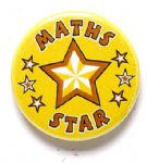 Maths Star School Badge